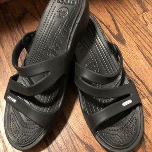Croc sandals size 10